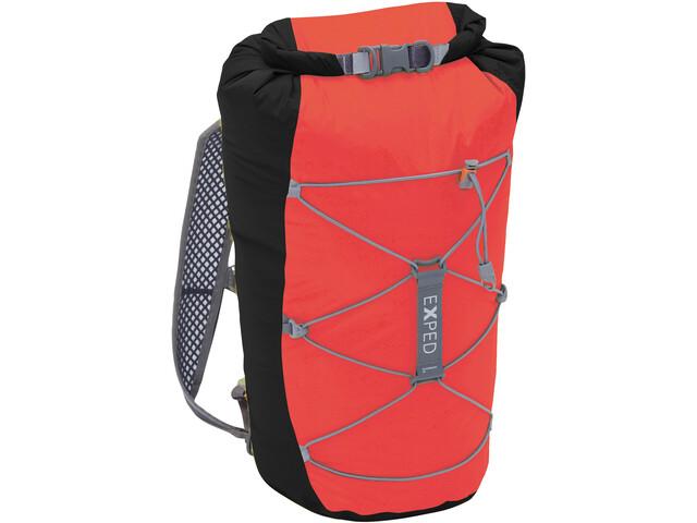 Exped Cloudburst 25 Backpack black-red
